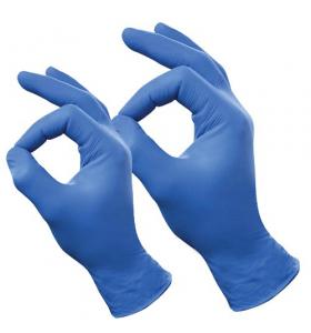 Handschoenen Blauw Nitril