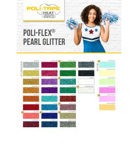 Kleurenkaart Poli Flex Pearl Glittter