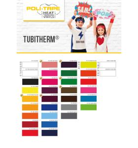 Kleurenkaart Poli-Flock Tubitherm