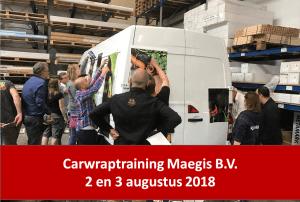 Volg de 3D signing- en carwraptraining bij Maegis!