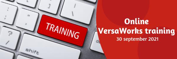 Online Versaworks training - 30 september