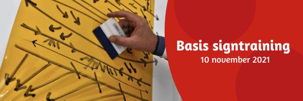 Basis signtraining - 10 november - VOL!