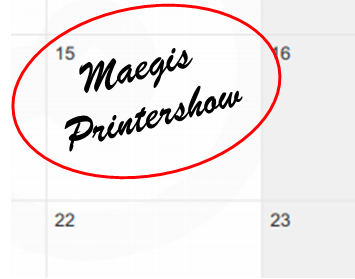 The Maegis Printer Day!