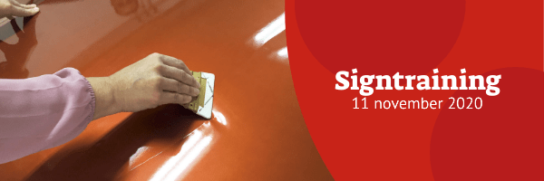 Signtraining - 11 november 2020 (uitgesteld)