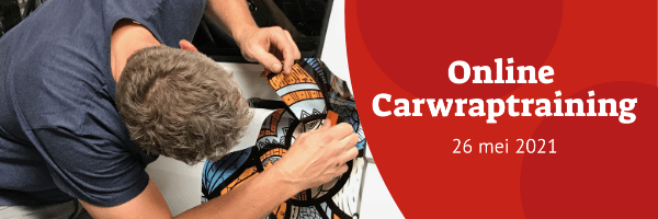 Online Carwraptraining - 26 mei