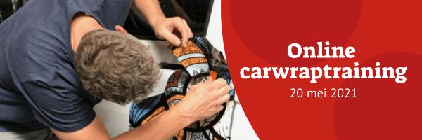 Online Carwraptraining - 20 mei