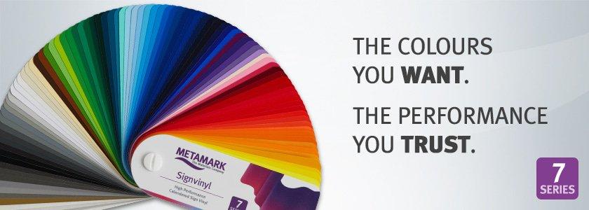 Mega update Metamark kleurfolie!