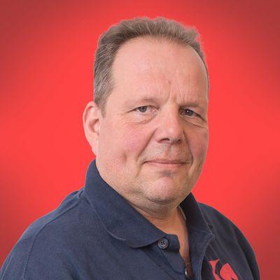 Erik Burgy Logistiek medewerker
